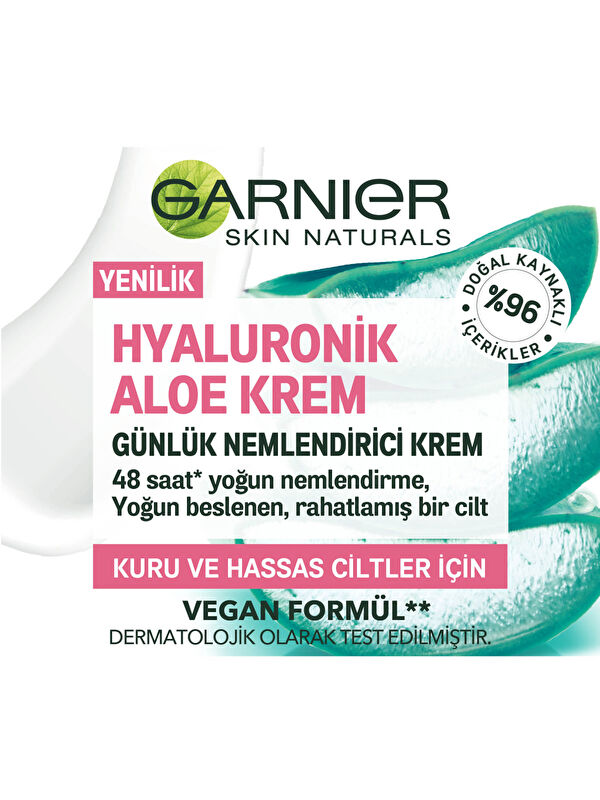 Garnier Hyaluronik Aloe Krem - Markalar