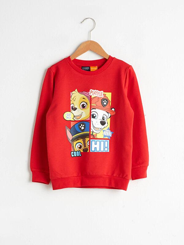 Erkek Çocuk Paw Patrol Baskılı Sweatshirt - LC WAIKIKI