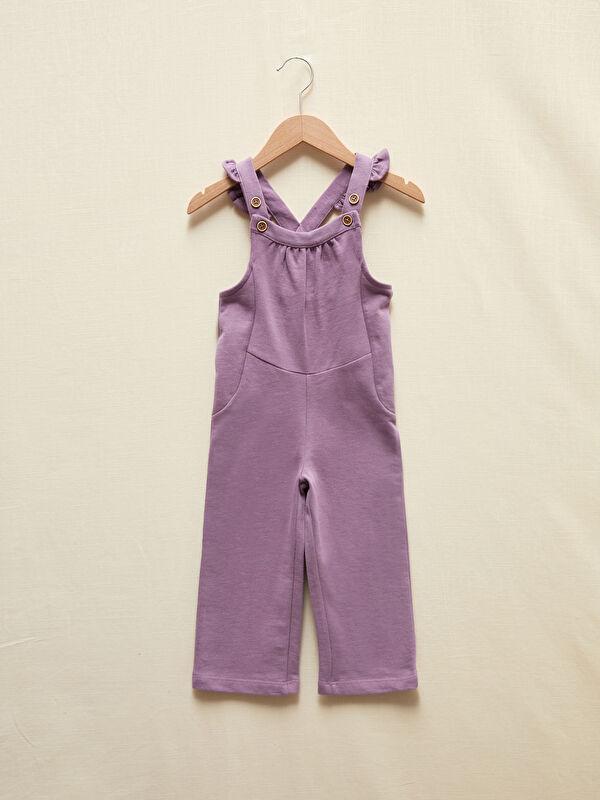 Kız Bebek Organik Pamuklu Salopet - LC WAIKIKI