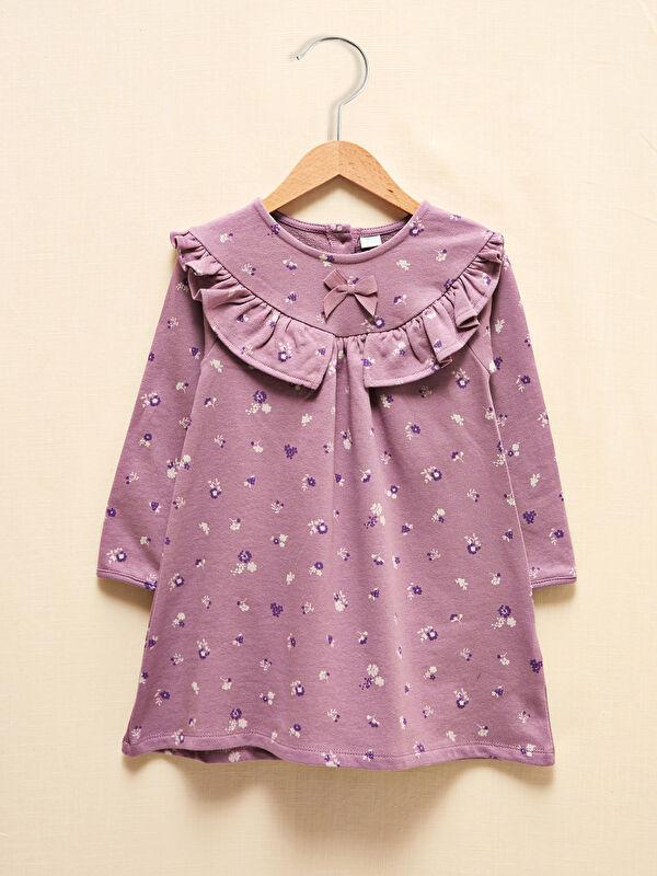 LCW GREEN Kız Bebek Organik Pamuklu Elbise - LC WAIKIKI