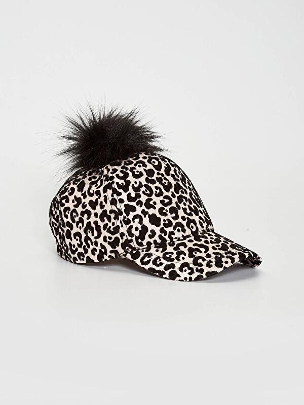 Kız Çocuk Ponpon Detaylı Şapka - LC WAIKIKI