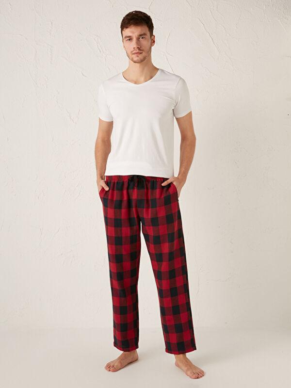 Standart Kalıp Ekose Erkek Pijama Alt - LC WAIKIKI