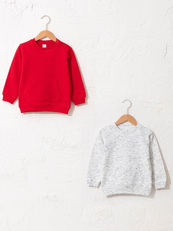 Erkek Bebek Sweatshirt 2'li - LC WAIKIKI