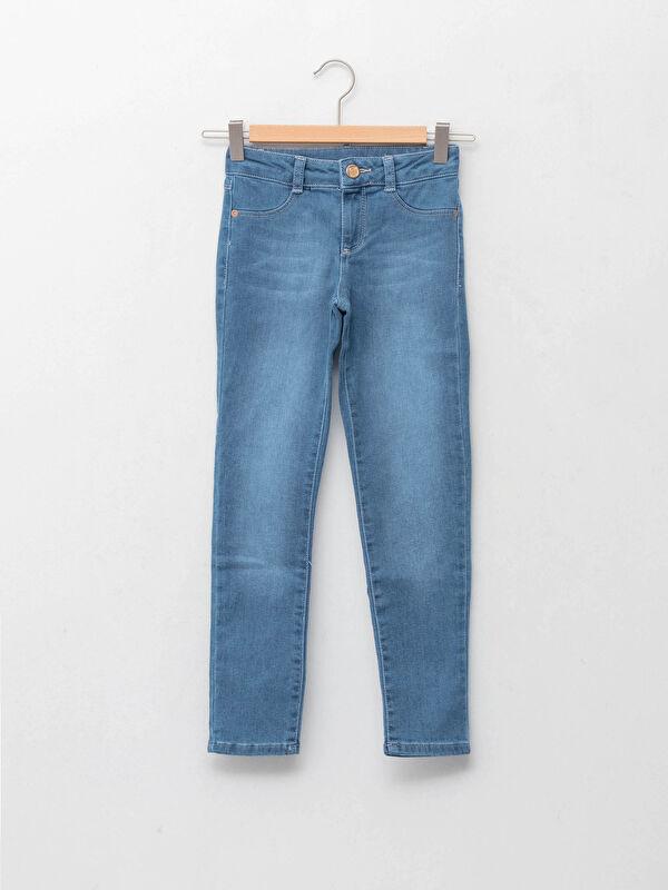 Skinny Fit Kız Çocuk Jean Pantolon - LC WAIKIKI