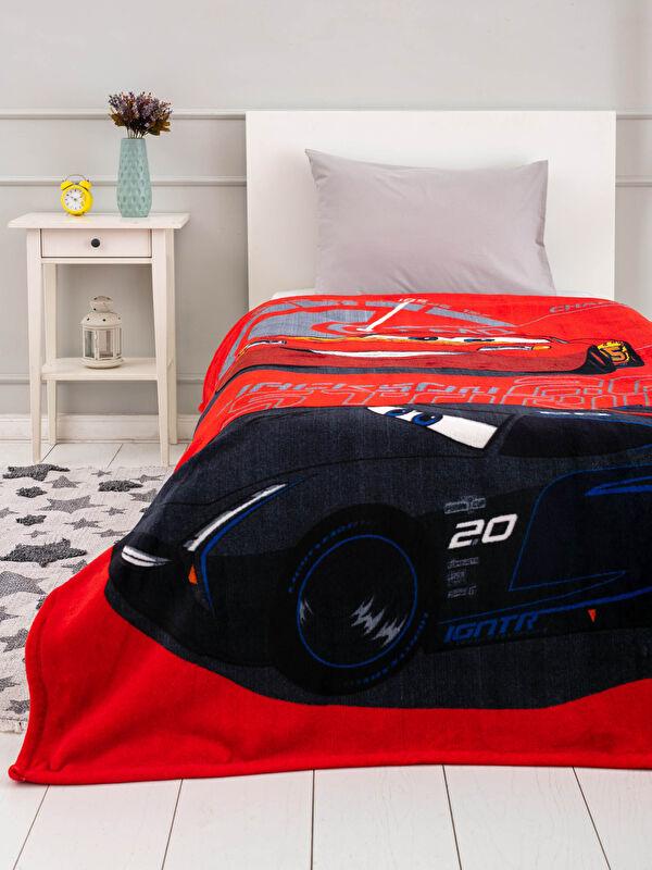 Cars Lisanslı Tek Kişilik Erkek Çocuk Battaniye - LCW HOME