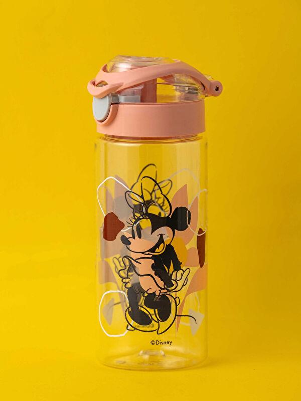 Minnie Mouse Lisanslı Kapaklı  Erkek Çocuk Suluk 6x15 Cm - LCW HOME