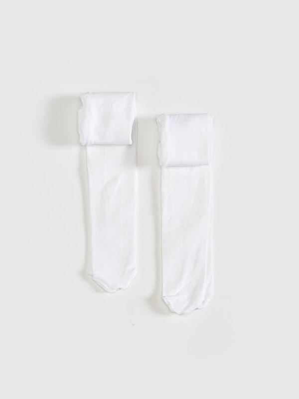 Kız Bebek Külotlu Çorap 2'li - LC WAIKIKI