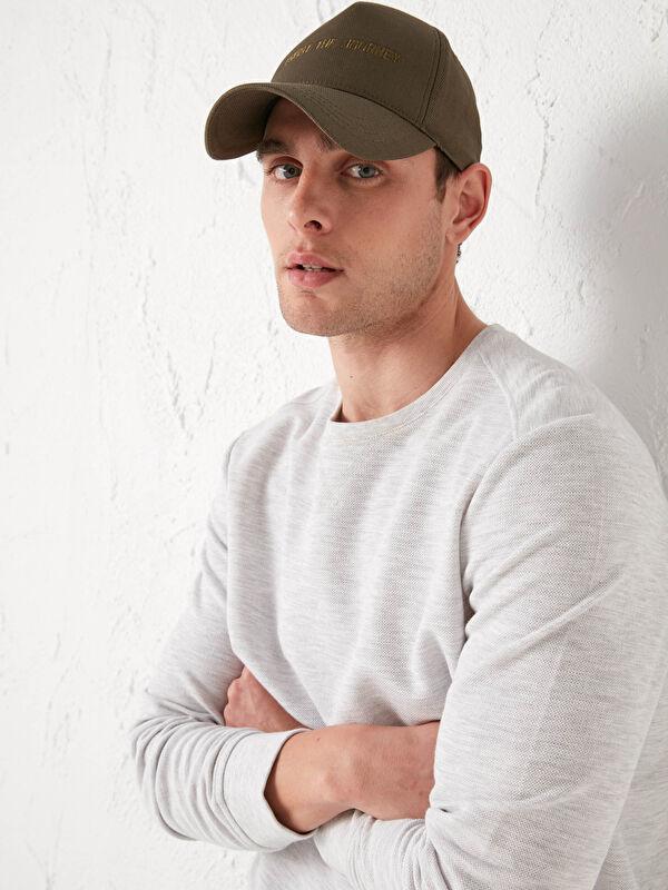 Nakışlı Erkek Kep Şapka - LC WAIKIKI