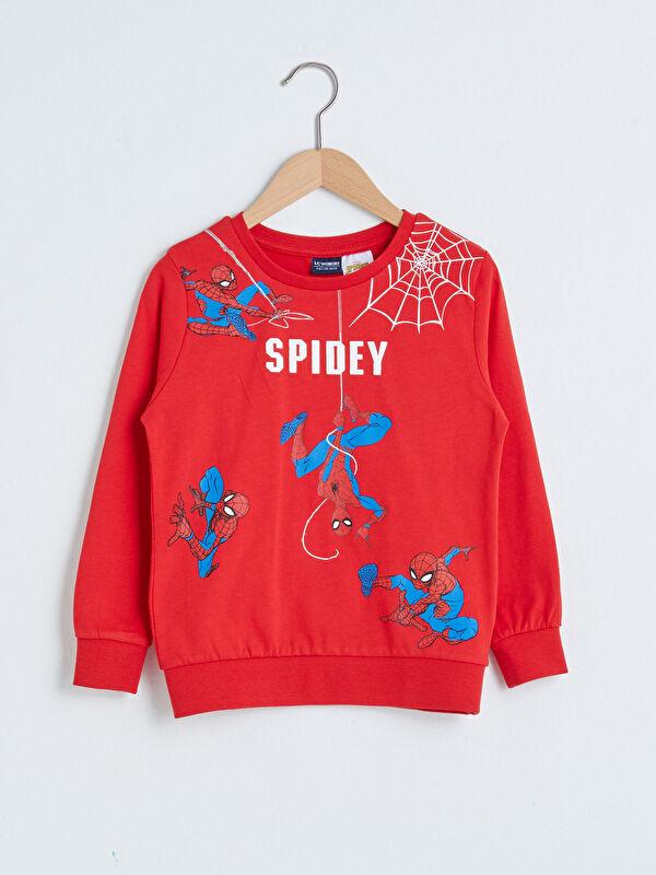 Erkek Çocuk Spiderman Baskılı Pamuklu Tişört - LC WAIKIKI