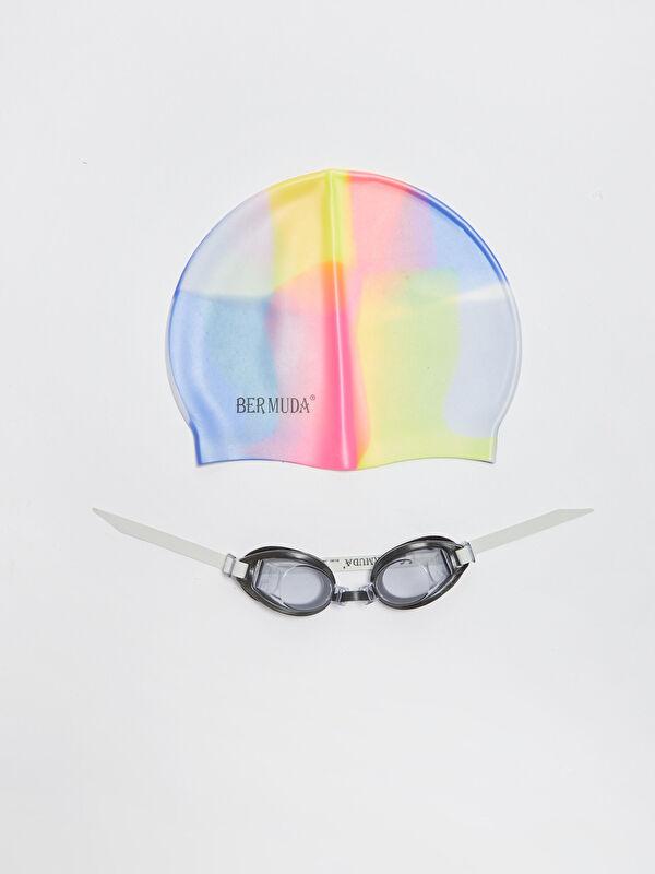 Kız Çocuk Deniz Gözlüğü ve Bone Set - LC WAIKIKI