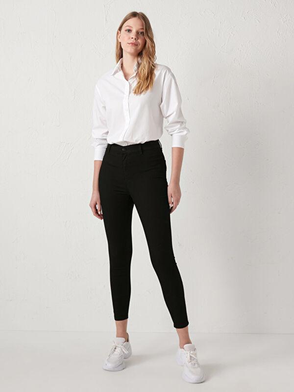 Yüksek Bel Super Skinny Jean Pantolon - LC WAIKIKI