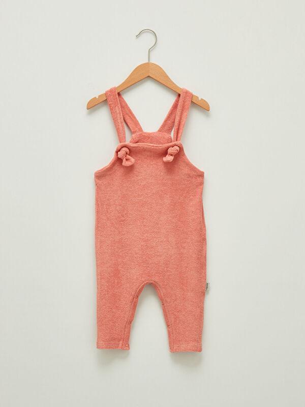Antebies Organik Pamuklu Kız Bebek Pelüş Salopet - Markalar