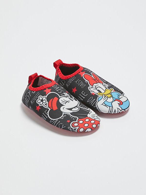 Kız Çocuk Minnie Mouse Lisanslı Deniz Ayakkabısı - LC WAIKIKI