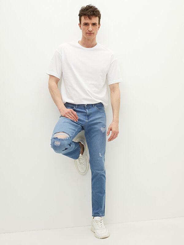 LCW CASUAL 750 Slim Fit Erkek Jean Pantolon - LC WAIKIKI