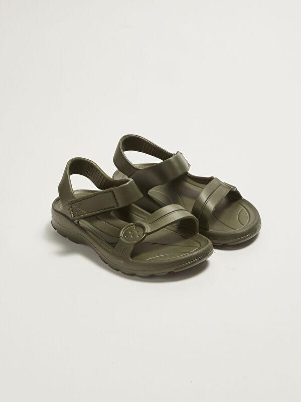 Tek Bantlı Cırt Cırtlı Erkek Çocuk Sandalet - LC WAIKIKI