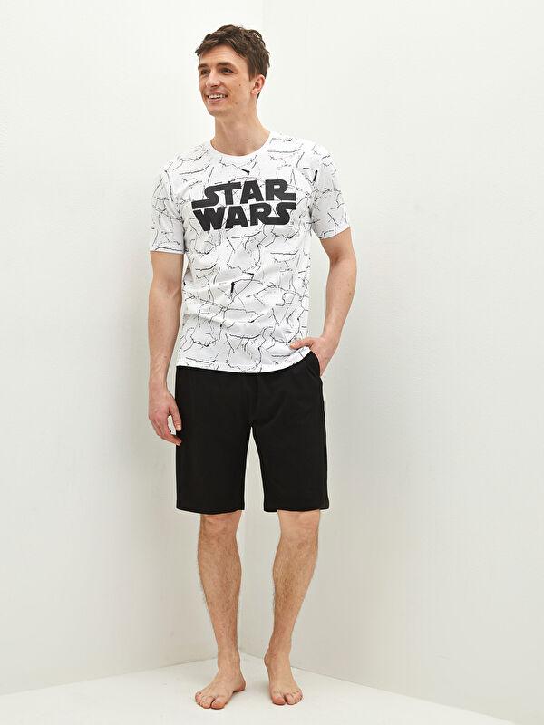 Standart Kalıp Star Wars Baskılı Erkek Pijama Takımı - LC WAIKIKI
