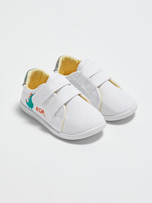 Yürüme Öncesi Cırt Cırtlı Erkek Bebek Günlük Bez Ayakkabı - LC WAIKIKI