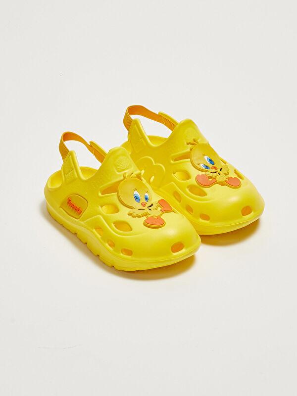 Tweety Lisanslı Lastikli Kız Bebek Sandalet - LC WAIKIKI