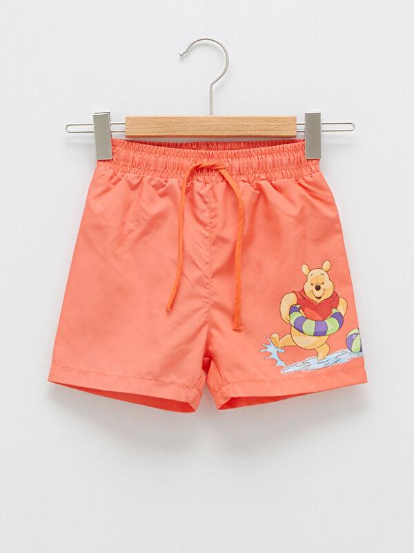 Winnie the Pooh Baskılı Erkek Bebek Yüzme Şort - LC WAIKIKI