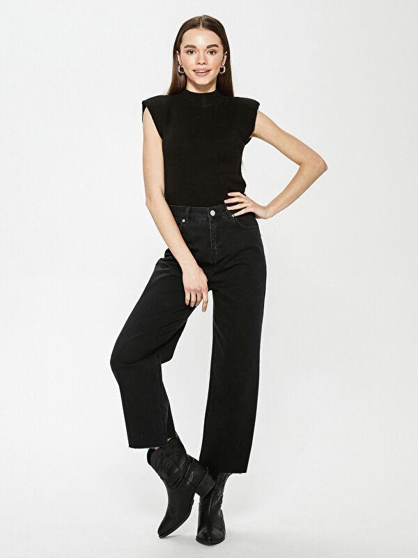 Yüksek Bel Slim Fit Kadın Jean Pantolon - LC WAIKIKI