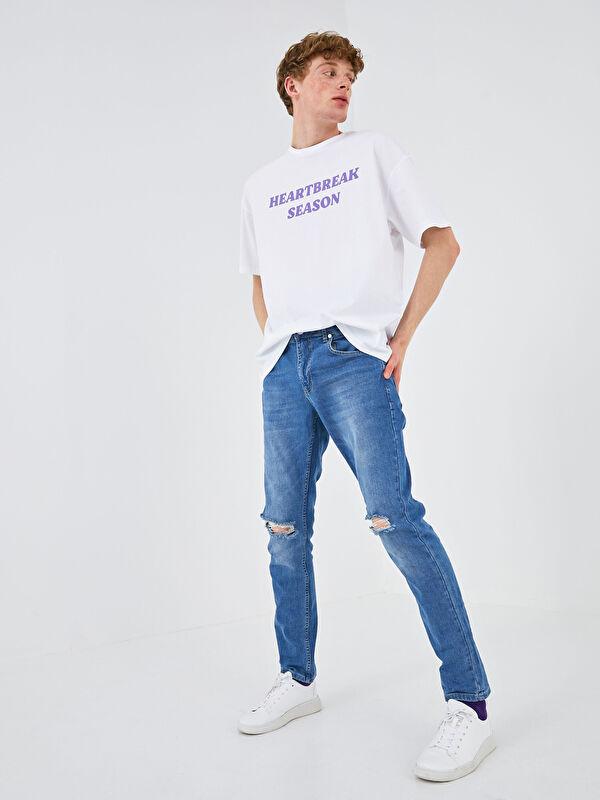 XSIDE 750 Slim Fit Erkek Jean Pantolon - XSIDE