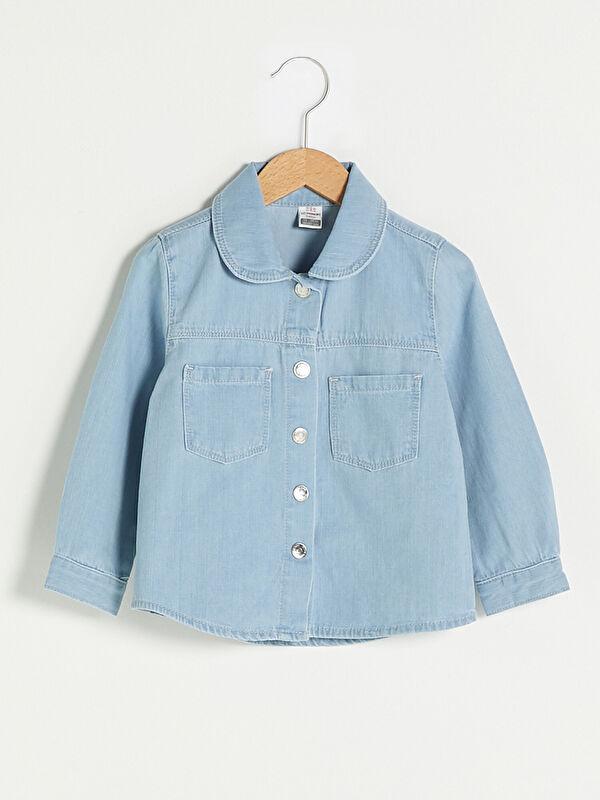 Джинсовая рубашка - LC WAIKIKI