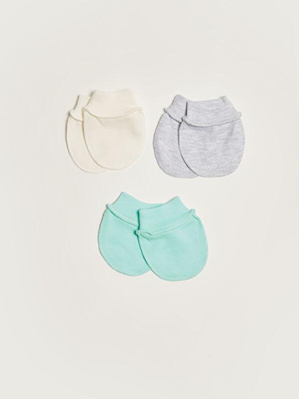 Bebekevi Basic Unisex Bebek Eldiven 3'lü - Markalar