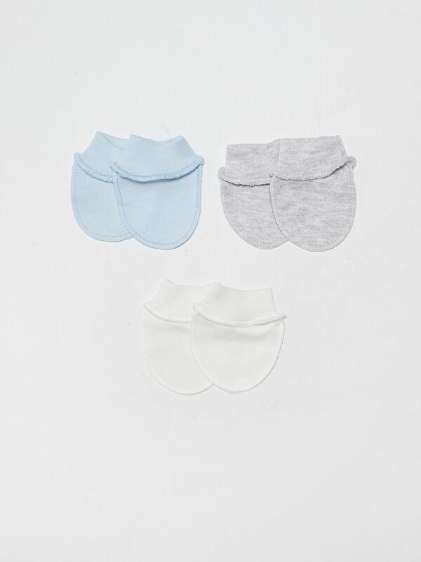 Basic Pamuklu Bebek Eldiven 3'lü - Markalar