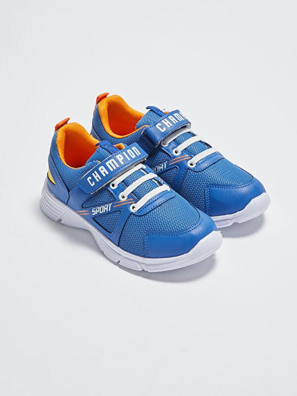 File Detaylı Cırt Cırtlı Erkek Çocuk Sneaker Ayakkabı - LC WAIKIKI