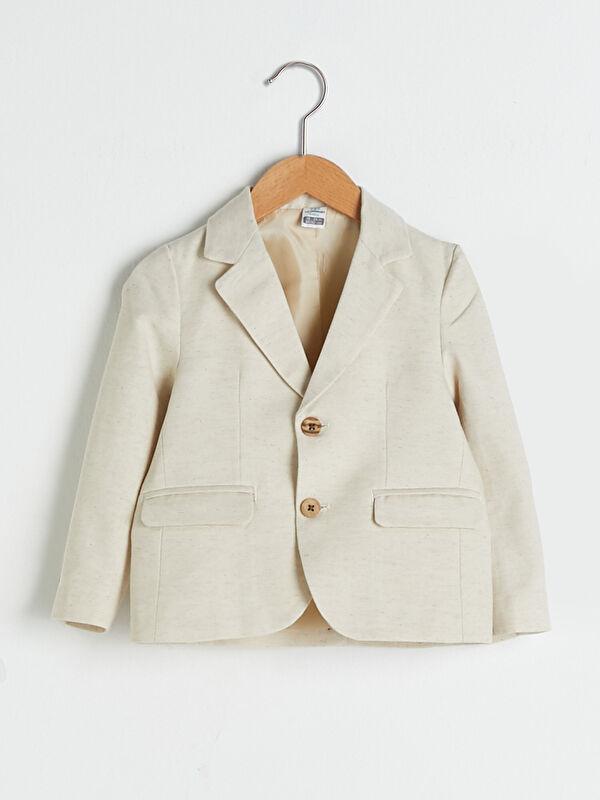 Uzun Kollu Basic Erkek Bebek Ceket - LC WAIKIKI