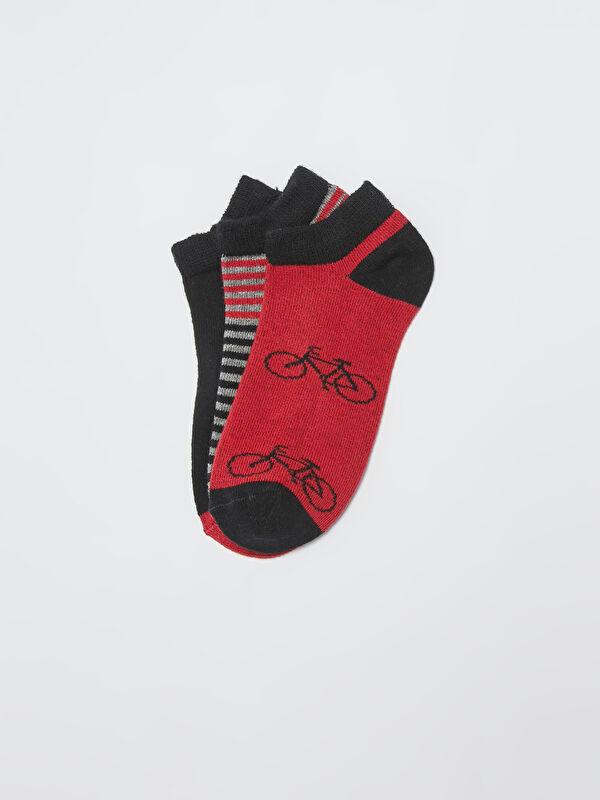 Erkek Çocuk Patik Çorap 3'lü - LC WAIKIKI