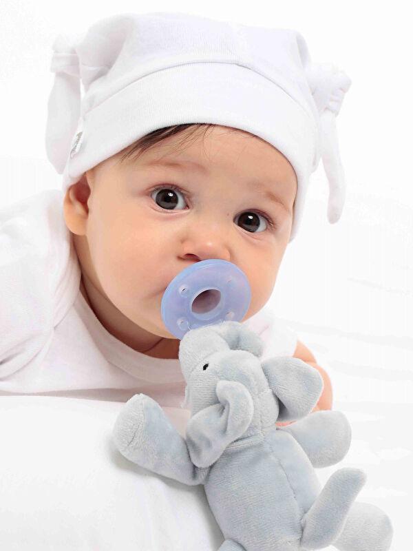 Oioi Unisex Bebek Fil Emzik Uyku Arkadaşı - Markalar