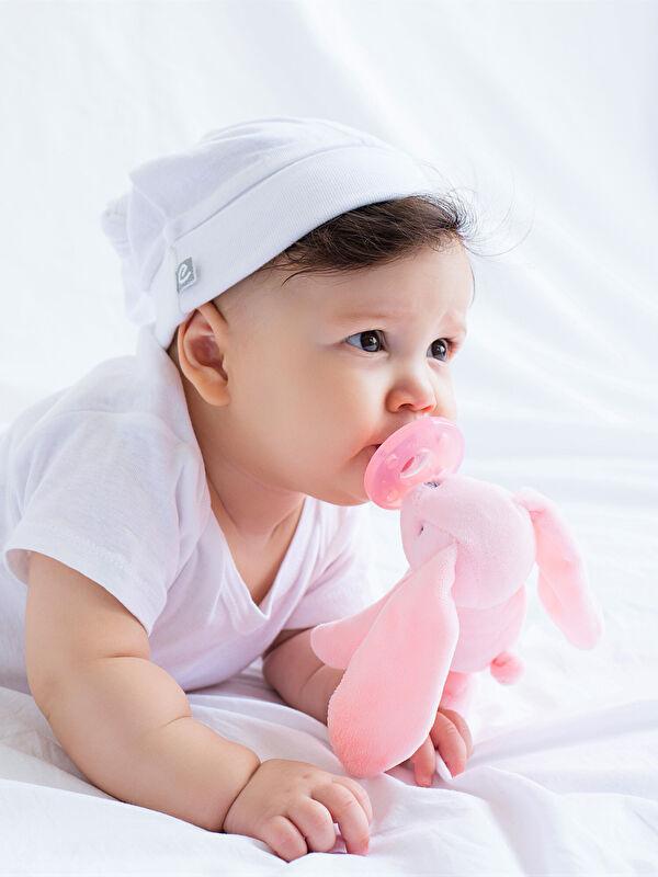 Oioi Unisex Bebek Tavşan Emzik Uyku Arkadaşı - Markalar