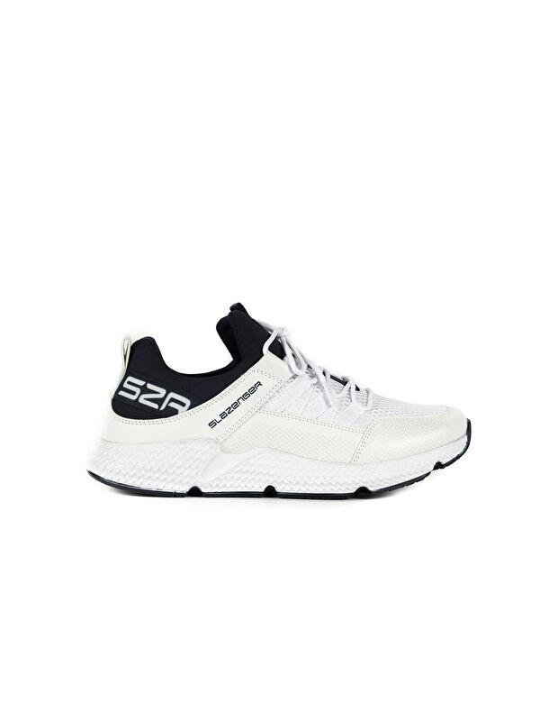 Slazenger Zafira File Detaylı Bağcıklı Erkek Günlük Spor Ayakkabı - Markalar
