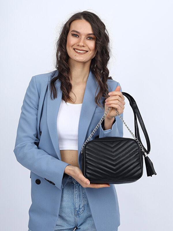 Madamra Zincir Askılı Kapitone Kadın Çapraz Çanta - Markalar