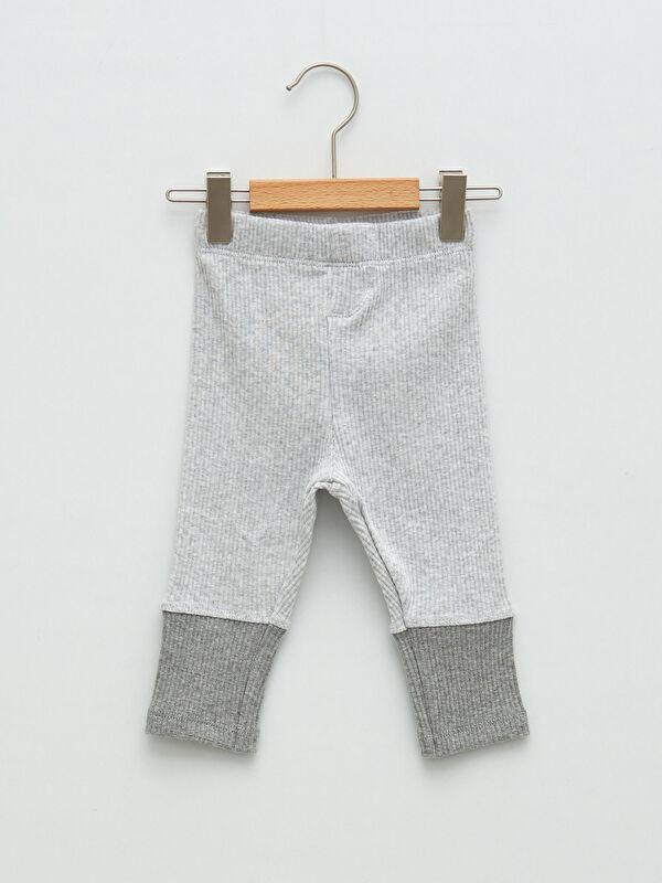 Beli Lastikli Pamuklu Erkek Bebek Pantolon - LC WAIKIKI