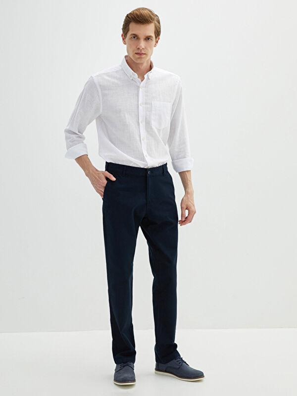 LCW CLASSIC Standart Kalıp Erkek Chino Pantolon - LC WAIKIKI