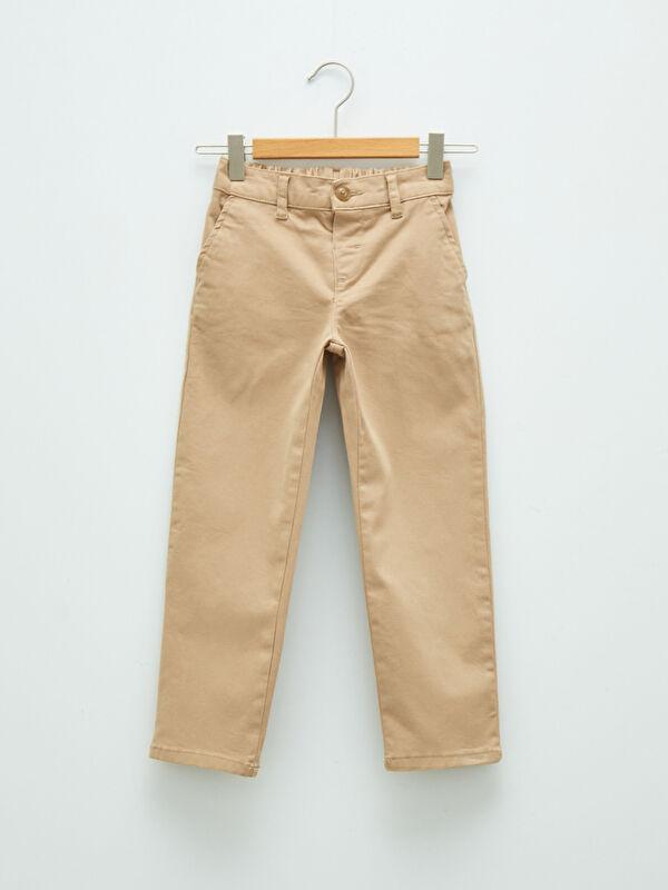 Basic Gabardin Erkek Çocuk Pantolon - LC WAIKIKI