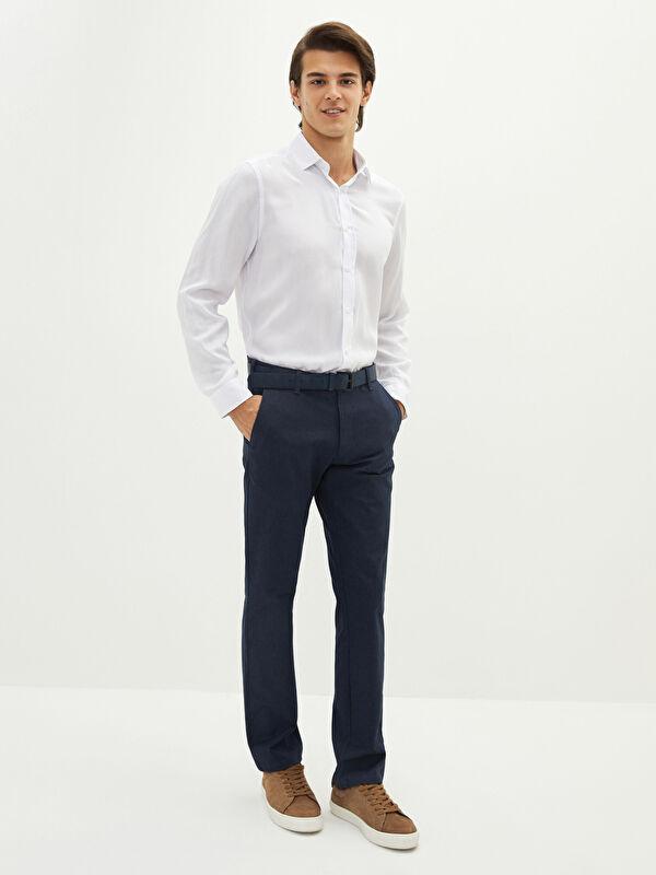 LCW CLASSIC Standart Kalıp Gabardin Erkek Chino Pantolon - LC WAIKIKI