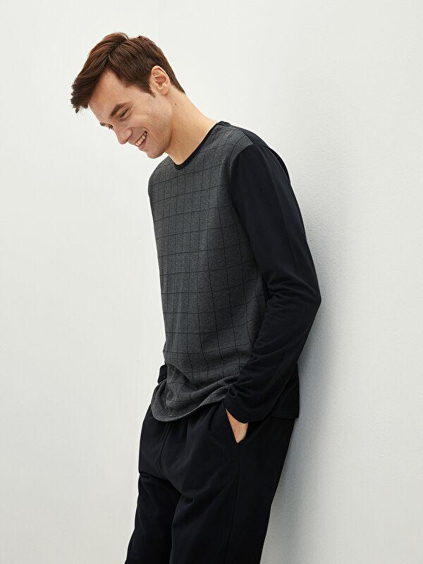 Standart Kalıp Erkek Pijama Takımı - LC WAIKIKI