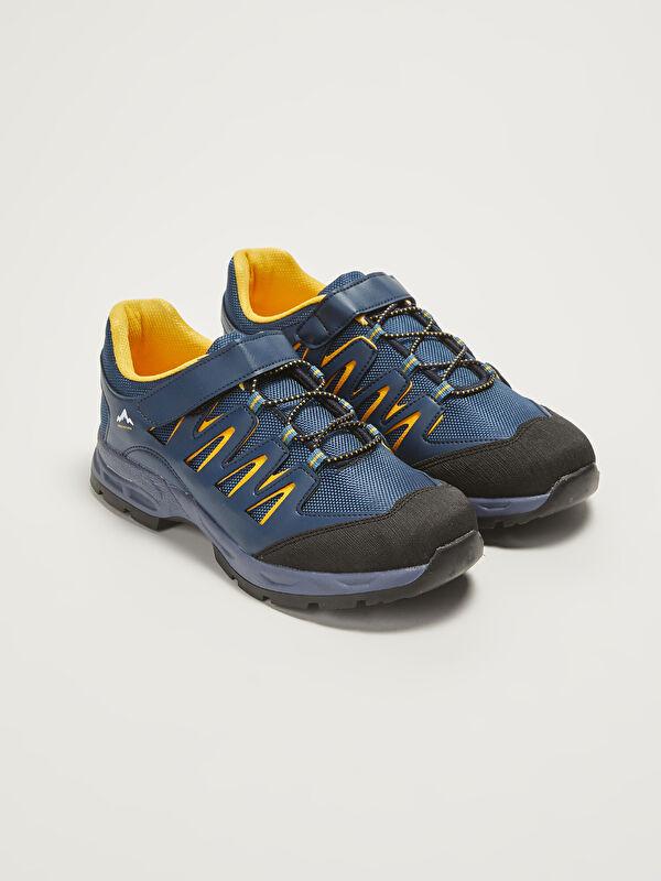 Bağcıklı Cırt Cırtlı Erkek Çocuk Trekking Ayakkabı - LC WAIKIKI