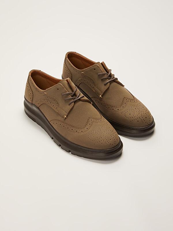 Dekoratif Dikişli Bağcıklı Erkek Klasik Ayakkabı - LC WAIKIKI