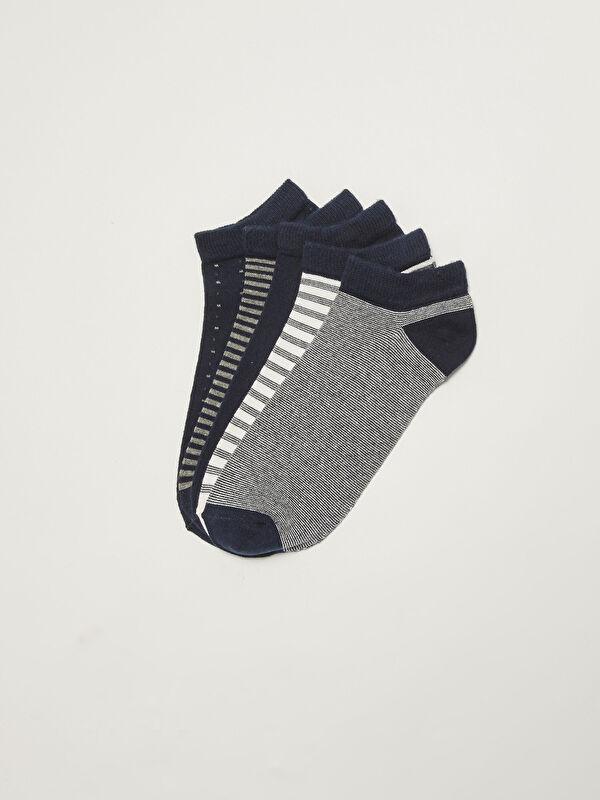 Desenli Erkek Patik Çorap 5'li - LC WAIKIKI