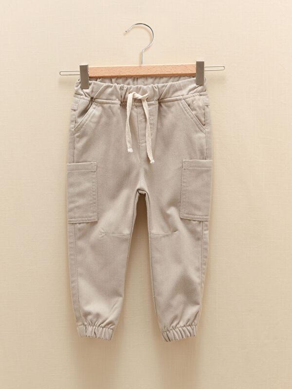 Beli Lastikli Basic Erkek Bebek Jogger Pantolon - LC WAIKIKI
