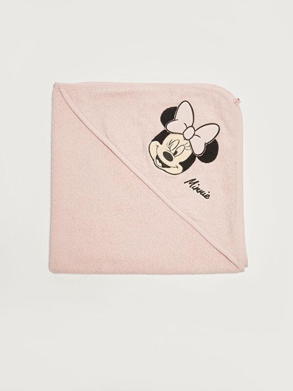 Minnie Mouse Baskılı Kız Bebek Battaniye - LC WAIKIKI