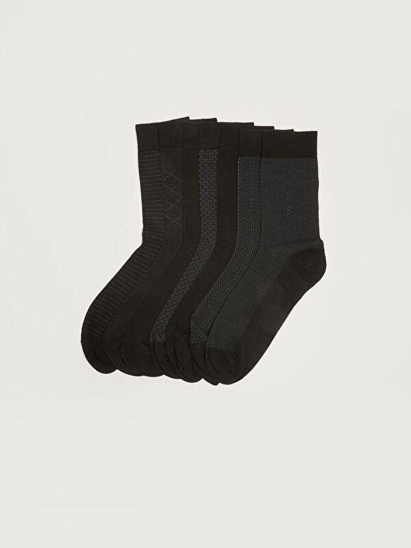 Desenli Erkek Soket Çorap 7'li - LC WAIKIKI