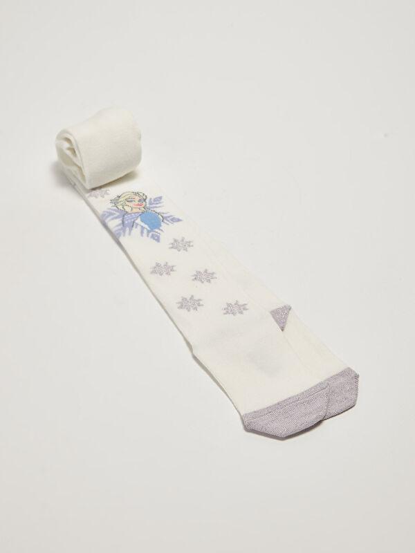 Elsa Desenli Kız Çocuk Külotlu Çorap - LC WAIKIKI