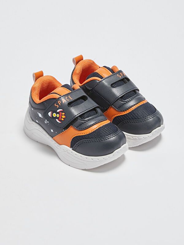File Detaylı Erkek Bebek Cırt Cırtlı Aktif Spor Ayakkabı - LC WAIKIKI