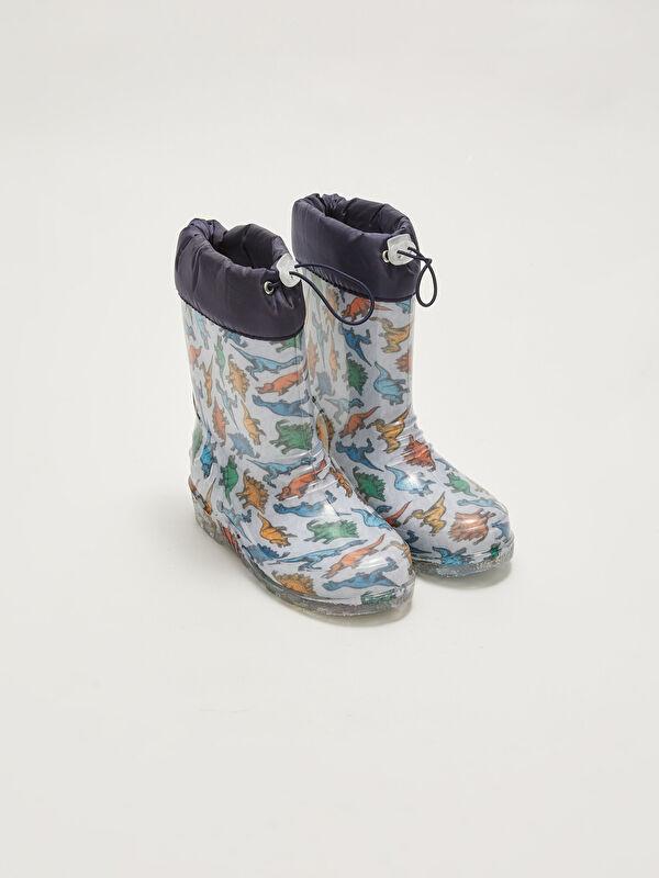 Elastik Bağcıklı Erkek Çocuk Yağmur Botu - LC WAIKIKI