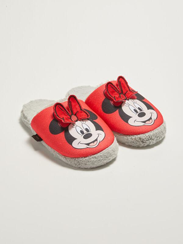 Mickey Mouse Lisanslı Kadın Ev Terliği - LC WAIKIKI